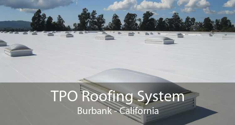 TPO Roofing System Burbank - California
